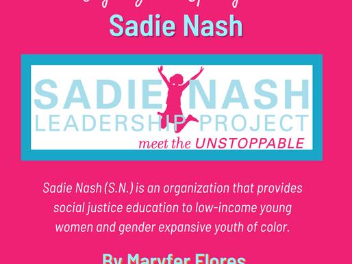 Organization Spotlight: Sadie Nash Leadership Project