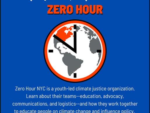Organizational Spotlight: Zero Hour