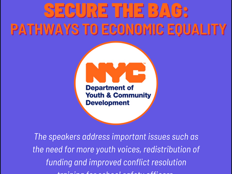 DYCD Secure the Bag Event