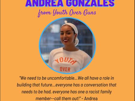 Activist Spotlight: Andrea Gonzales