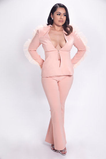 Like A Boss Blazer Set