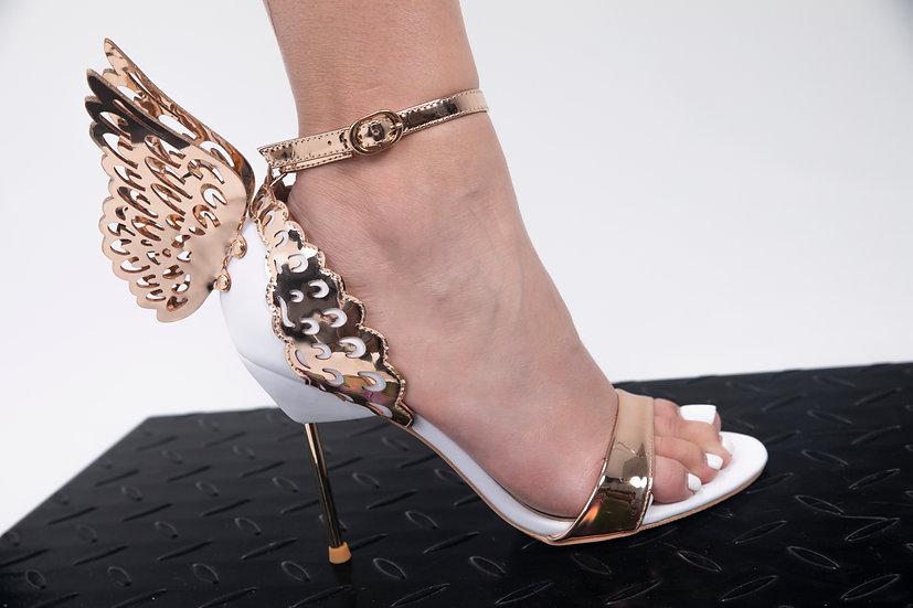 Make A Statement Gold Sandal