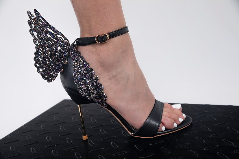 Make A Statement Black Sandal