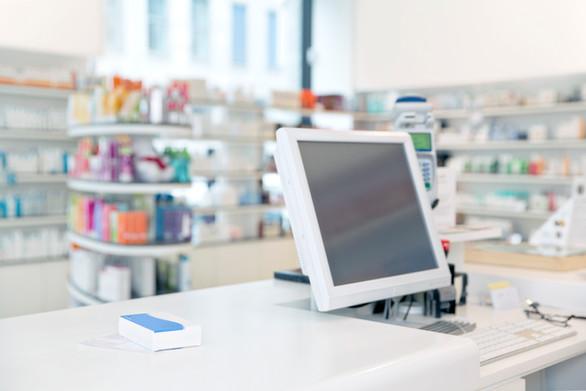Pharmacy Display Furniture