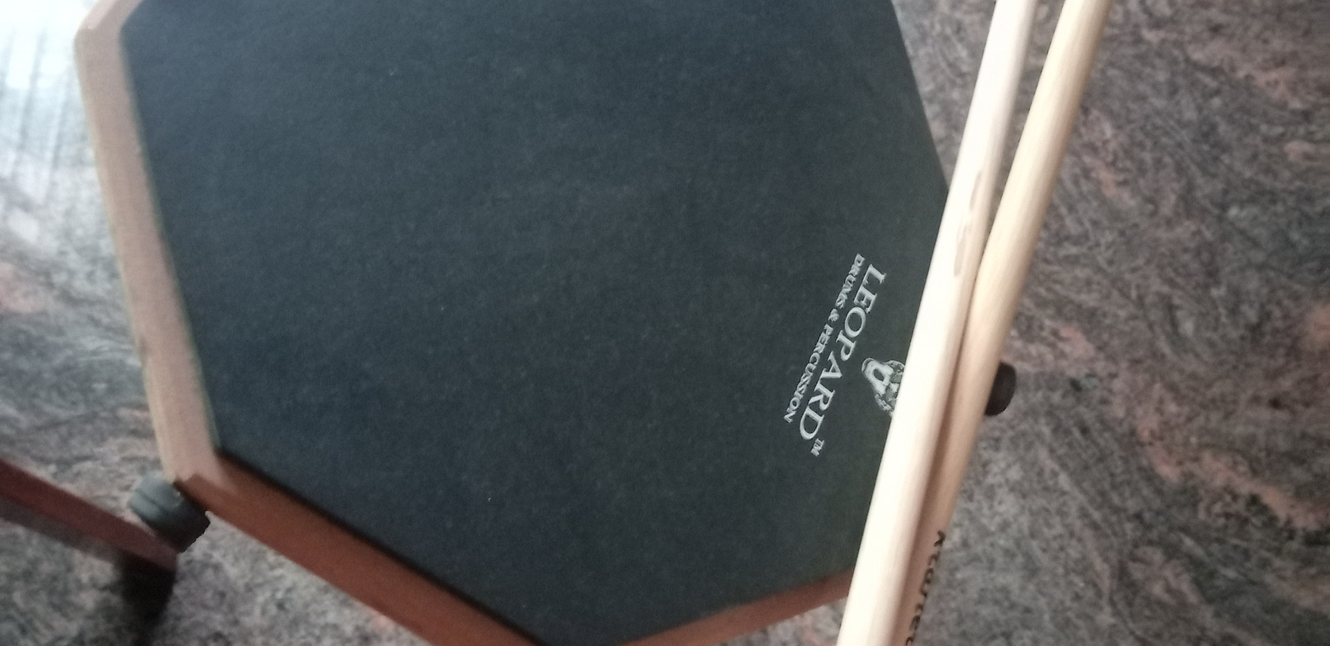 Leopard Drum Practice Pad
