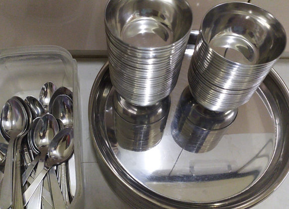 Rent a Cutlery - Plate bank