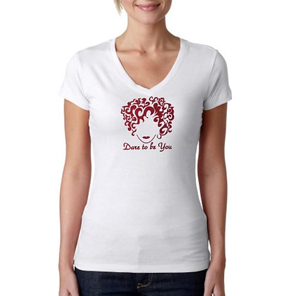 Dare To Be Curly V-Neck