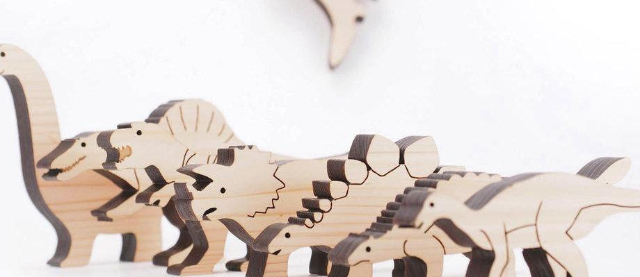 ディノ・DINO・恐竜の積木