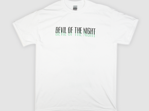 Devil of the Night - Tee's (White)