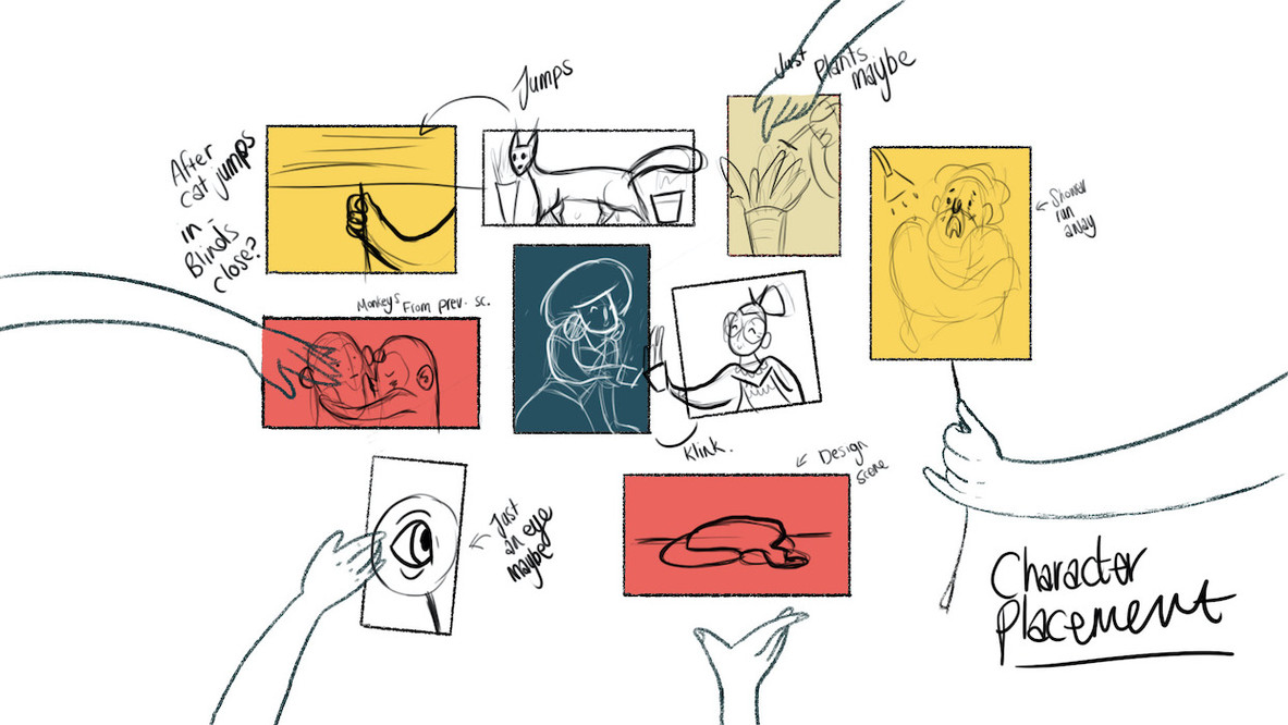 Storyboard Scene Layout