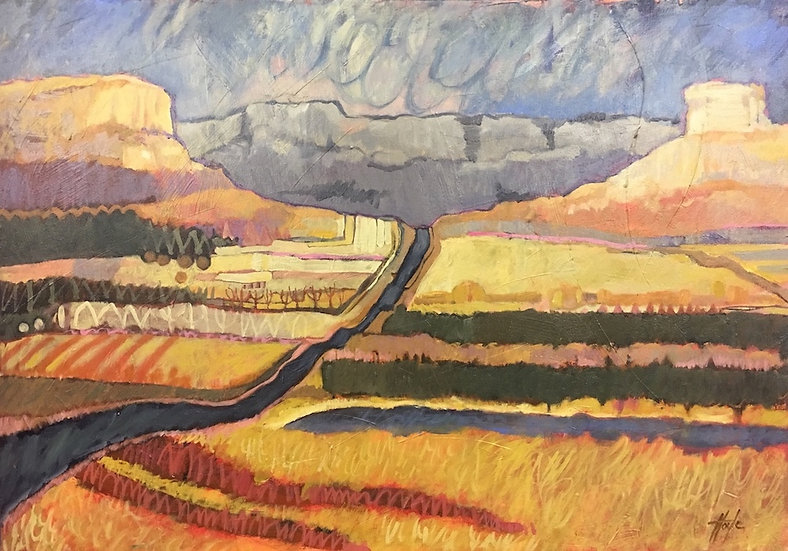 L436.Fragmented Landscape-Oranje