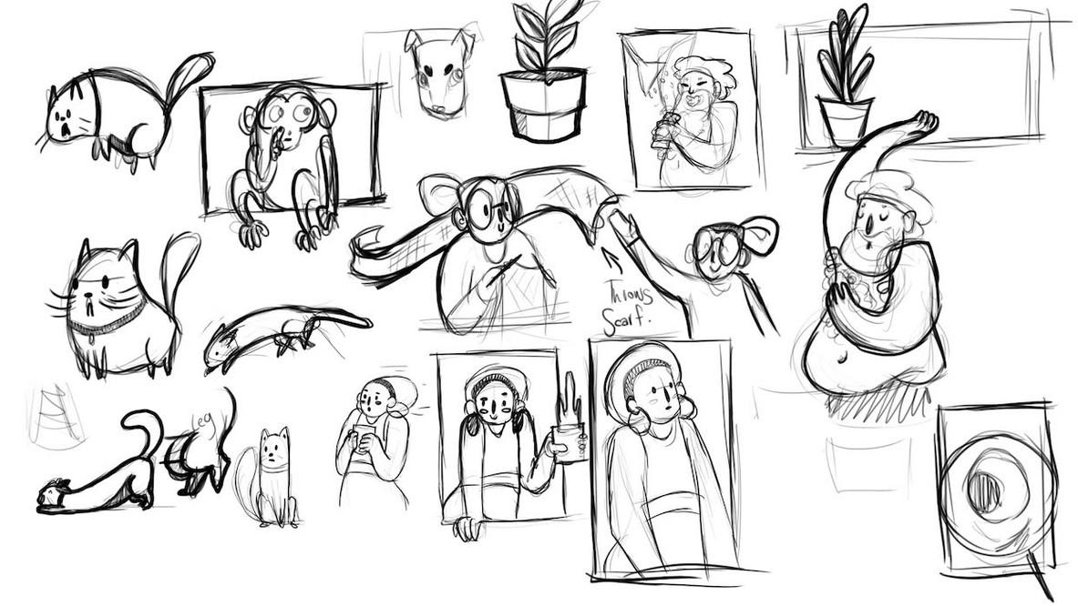 Storyboard Character Exploration