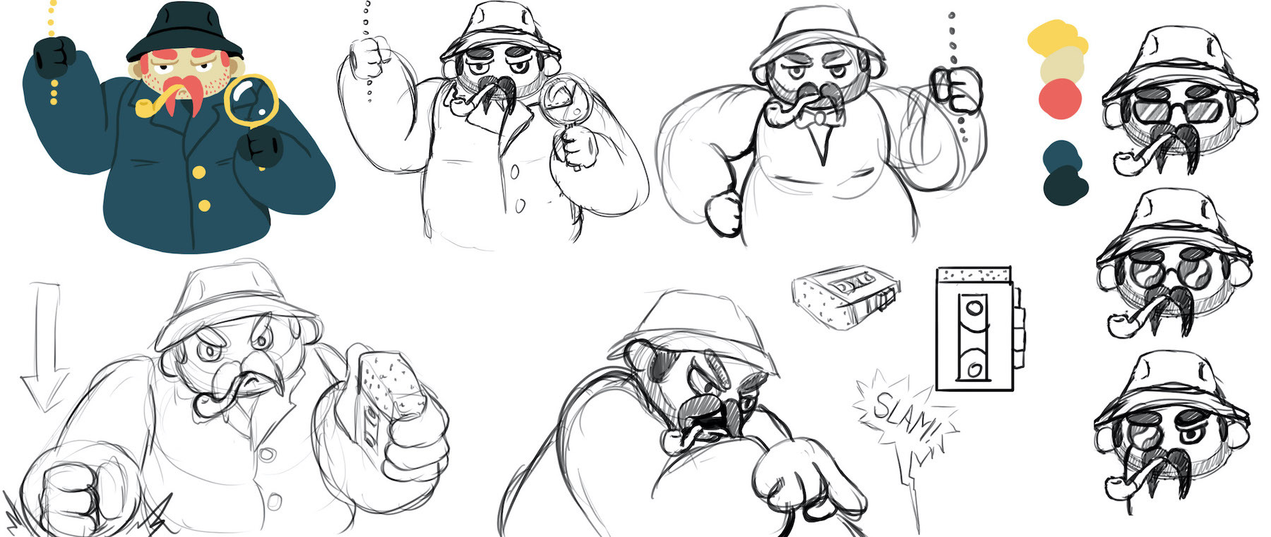 Detective Character Exploration