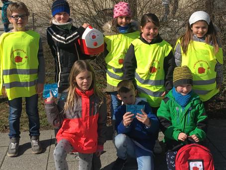 Juniorhelfer unterstützen Schulsanis