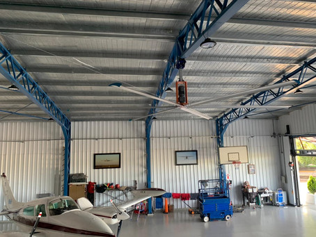 Céfiro en un Hangar (Venado Tuerto, Santa Fe 📍)