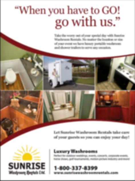 sunrise washroom rentals