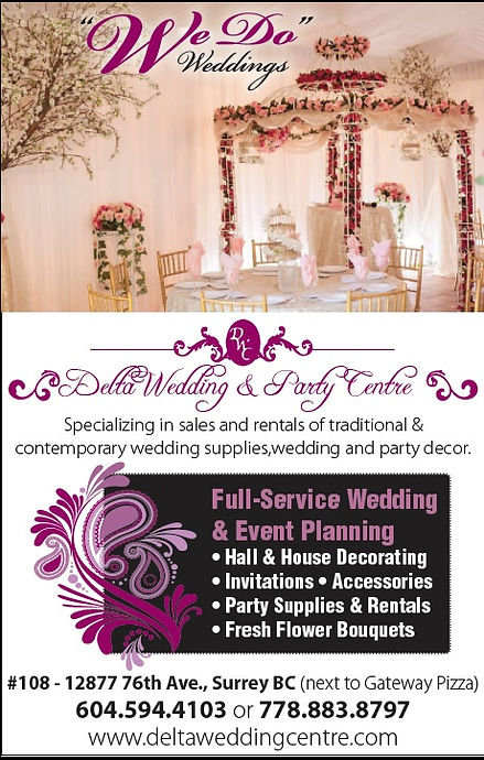 Delta Wedding & Party Centre