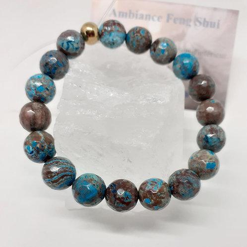 Bracelet Chrysocolle multicolore Extra