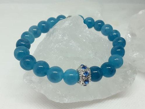 Bracelet Calcédoine extra