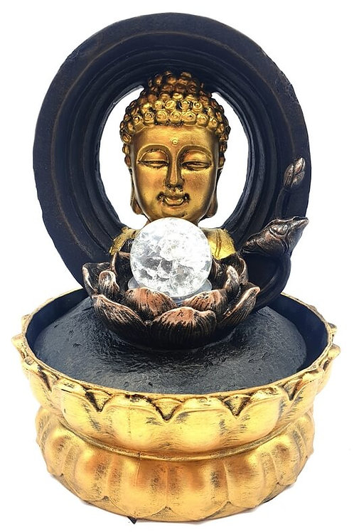 Fontaine Statue Bouddha Led