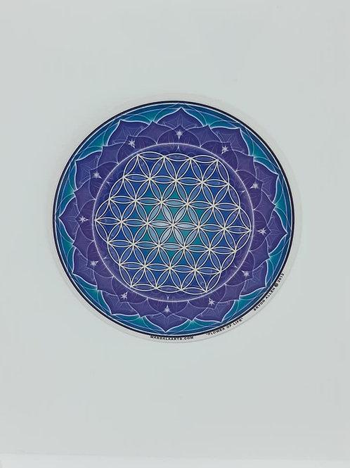Sticker Adhésif décoratif Fleur de vie