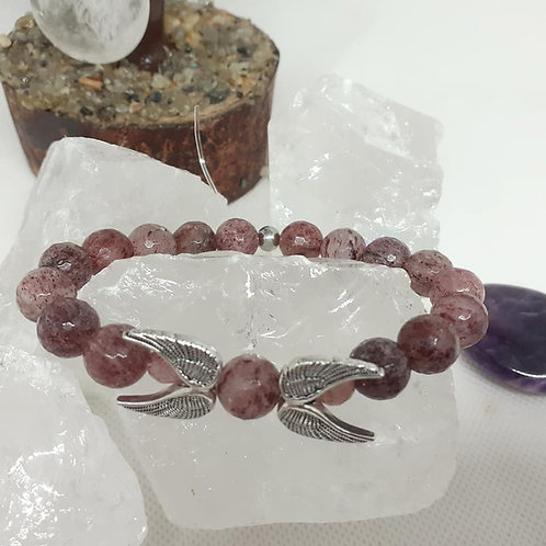 Bracelet Quartz Fraise Ange