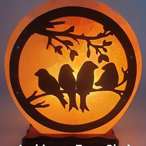 Lampe de Sel Oiseaux