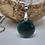 Thumbnail: Collier pendentif rond (22mm) en Jade Extra
