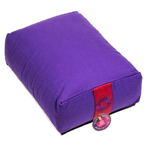 Coussin méditation/Bolster 7ème Chakra violet