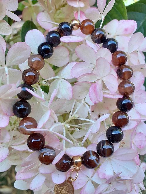 Bracelet Agate Coco
