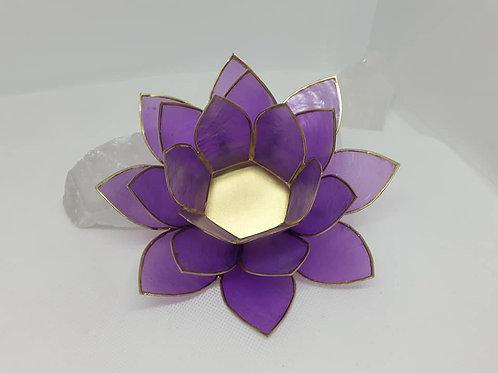 Eclairage d'Ambiance Lotus Violet