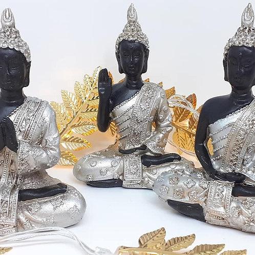 Lot de 3 bouddhas Thaï