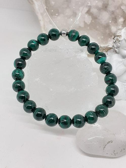 Bracelet Malachite extra