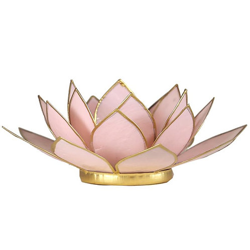 Eclairage d'Ambiance Lotus RoseTendre