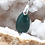 Thumbnail: Collier pendentif goutte (22mm) Jade Extra