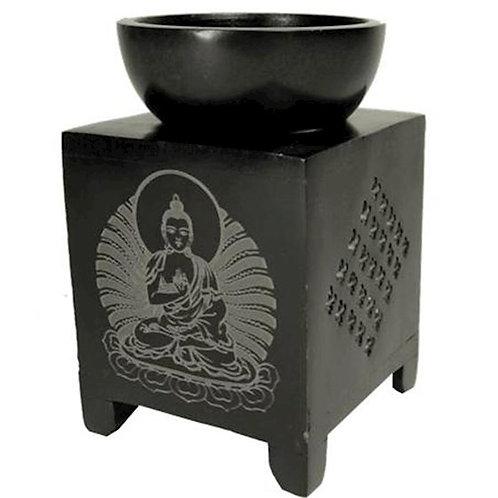 Brûle Parfum en Pierre à Savon Bouddha