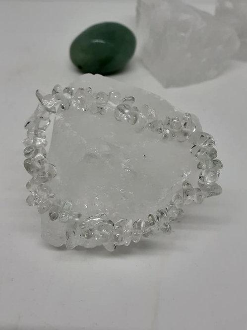 2 Bracelets Baroque Cristal de Roche Extra