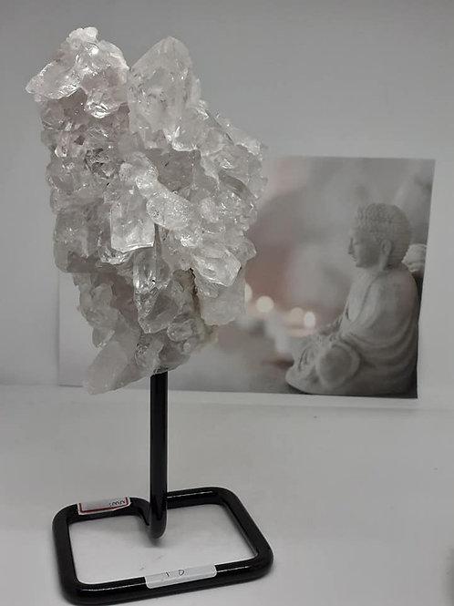 Quartz Cristal de Roche soclé