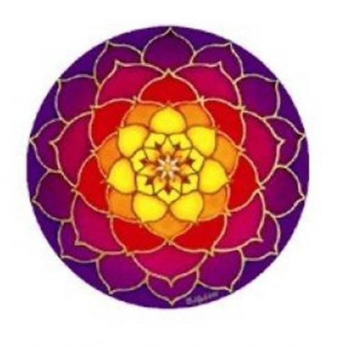 Sticker Adhésif décoratif Lotus de l'aube