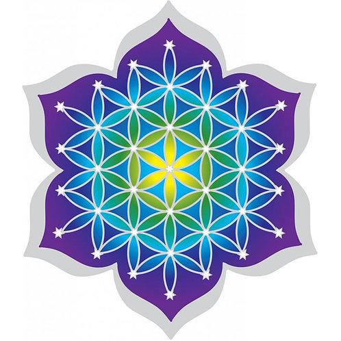 Sticker Adhésif décoratif Fleur de vie Mandala sacré