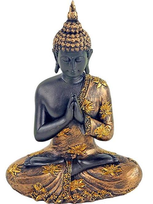 Bouddha patiné doré