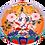Thumbnail: Sticker Adhésif décoratif Tara Blanche