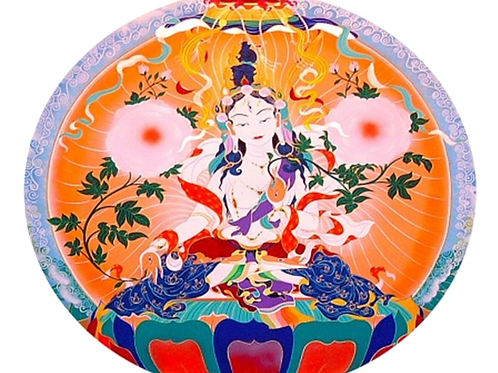Sticker Adhésif décoratif Tara Blanche