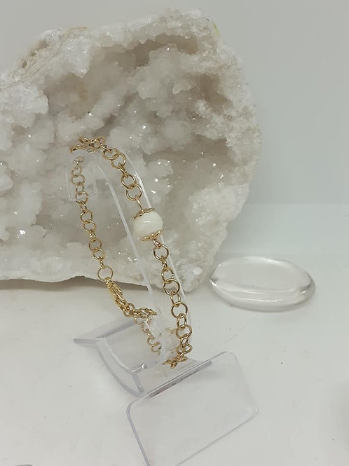 Bracelet Perle Nacre naturelle extra