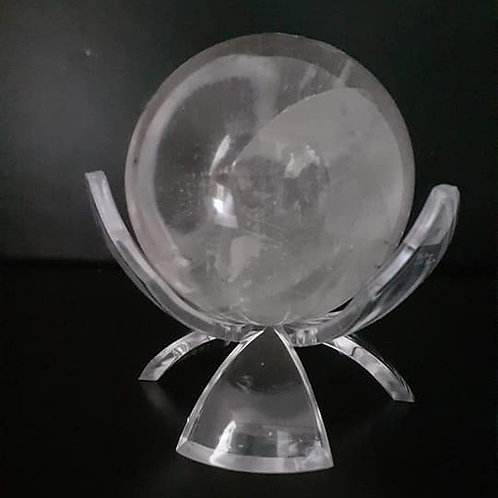 Sphère de Cristal de Roche de Qualité Extra