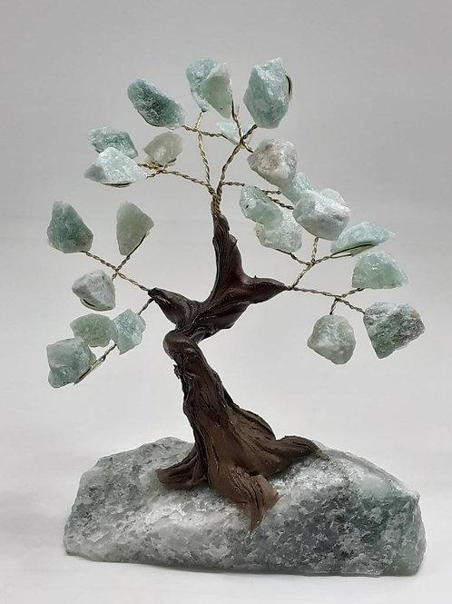Bonsaï en pierres minérales brutes AVENTURINE