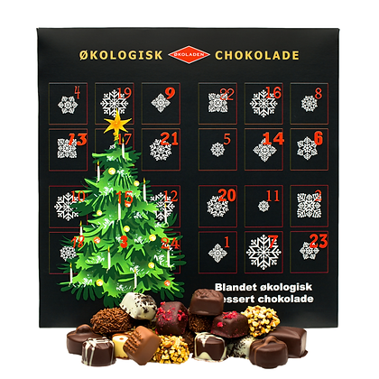 Julekalender - Dessertchokolade