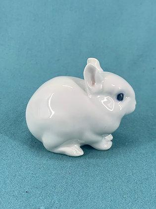 Nr: 4705 - Hvid kanin Royal Copenhagen RC