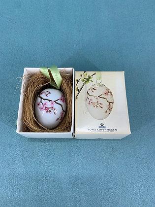 År: 2012 - Japanskkirsebærgren Påske æg Royal Copenhagen