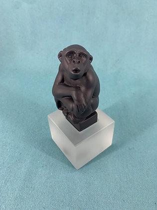 Nr:  1249066 - Abe Sort Chimpanse Royal Copenhagen RC